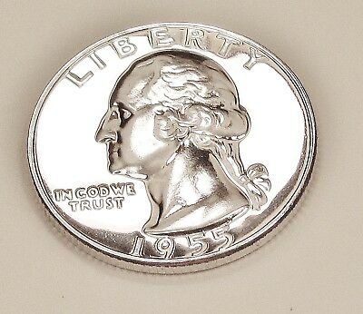 1955  Choice  Proof   Quarter  90%  SILVER  >Exact  Coin  Pictured<  #1218   45