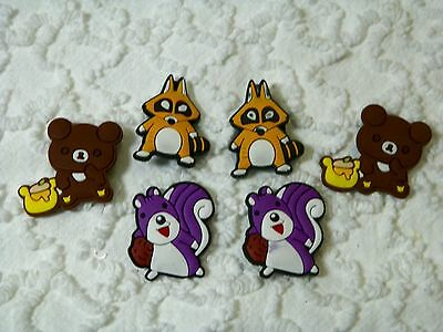 Croc Clog Forest Animals Plug Shoe Charms Will Fit Other Croc Styles C 475