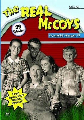 THE REAL MCCOYS COMPLETE SEASON 3 New Sealed 5 DVD Set