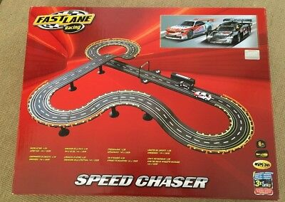Fast Lane Speed Chaser Car Racing Track Brand New