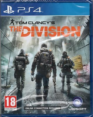 TOM CLANCY'S: THE DIVISION GAME PS4 (clancys) ~ NEW / SEALED