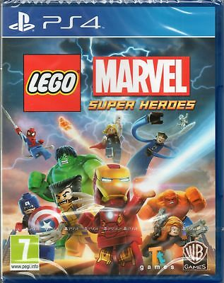 Lego: Marvel Super Heroes Game Ps4 ~ New / Sealed