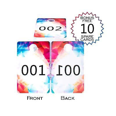 Live Sale Plastic Number Tags LARGE Size  Facebook Clothing and Lularoe Suppl...