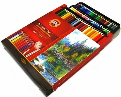 Mondeluz Aquarell Watercolor Pencils 72 colors KOH-I-NOOR 3714