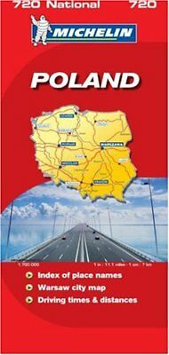 Poland 2007 (Michelin National Maps) by VARIOUS Sheet map, folded Book The Cheap