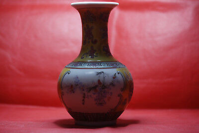 Exquisite Chinese vase with colorful porcelain vases X25