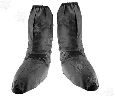 XXL Dry Waterproof Overboot Over Boot Motorcycle Motorbike Bike Black