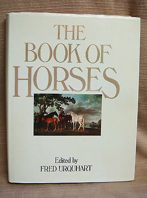 The Book of Horses by Fred Urquhart - 1st Edition HC/DJ