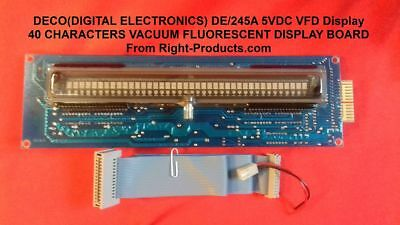 DECO(DIGITAL ELECTRONICS) DE/245A 5VDC VFD Display