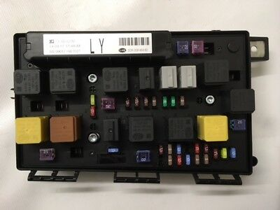 genuine vauxhall astra h, zafira b front fuse box assembly new 93194876 ly