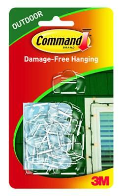 COMMAND 17017CLR Outdoor Removable Clips-Decorations/Christmas/Lights.Pk16-Clear