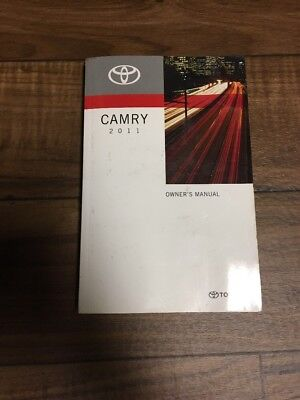 2011 toyota camry owners manual 27 95 picclick rh picclick com 2011 camaro owners manual 2011 camaro owners manual