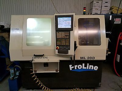 Maier ML20D Proline CNC Swiss Lathe