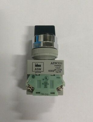 Idec 3 Position Selector Switch ASW320 TW-C10