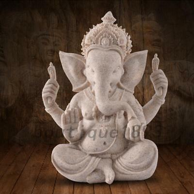 Ganesha Ganesh Maharaaj Hindu GOD of Success Statue Mini Good Luck Present Gift