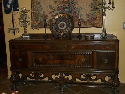 Antique Dining Room early 1900s (All 4 pieces)