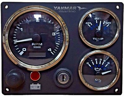 Yanmar Instrument Panel, Fully Wired Ready to install USA MADE