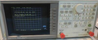 Agilent/HP 8752C Network Analyzer 300 kHz to 3 GHz Tested And Working