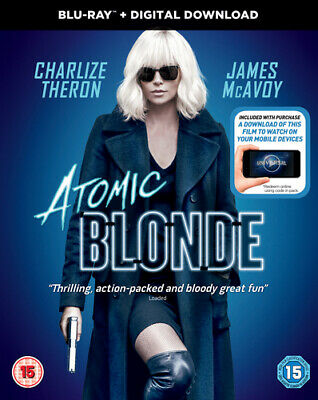 Atomic Blonde Blu-Ray (2017) Charlize Theron, Leitch (DIR) cert 15 Amazing Value