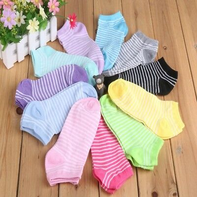 5 Pairs  Cotton Casual Women's Socks Breathable Adult Socks Candy Color