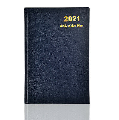 2019 Diary,  A4,A5 Week To View Book Bound Diary Hardback Cover