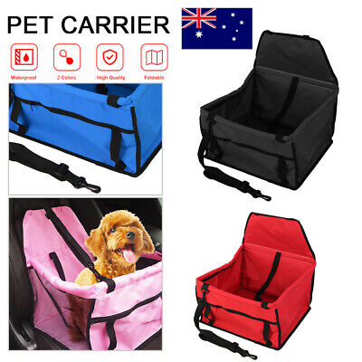 Waterproof Pet Dog Car Seat Cover Safe Basket Protector Mat Puppy Travel Carrier
