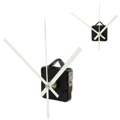 Silent DIY Clock Quartz Movement Mechanism Hands Replacement Part  White Hands