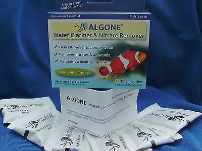 Aquarium Nitrate Remover  And Water Clarifier Algone The Best You Can Get!