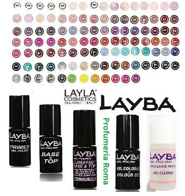 LAYBA by LAYLA GEL POLISH Smalto Semipermanente Removibile UV SOAK OFF - SCEGLI