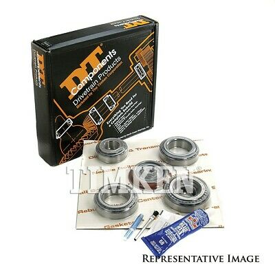 Axle Differential Bearing and Seal Kit Rear/Front TIMKEN DRK321C