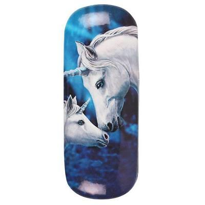 Lisa Parker Hard Glasses Case  Unicorn Mystic Fun Fantasy Love Heart Magic