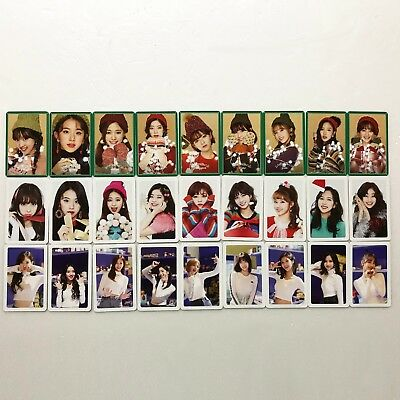 TWICE The 1st Repackage Album [MERRY & HAPPY] Heart Shaker Photocard Full Set
