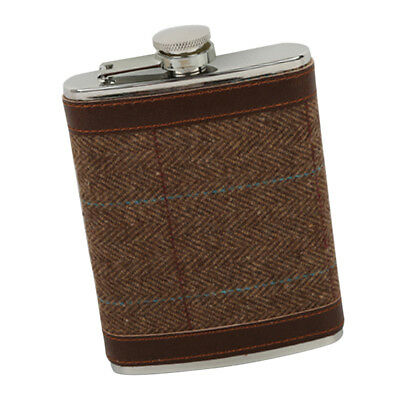 Portable Engraved 8 OZ Stainless Steel Hip Flask Personalized Flasks #5