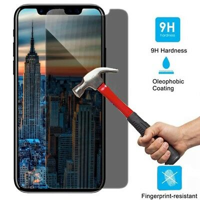 Anti-Spy Privacy Tempered Glass Screen Protector For Apple iPhone X