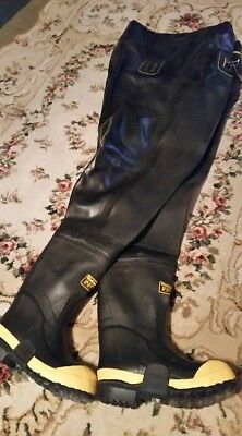 Men's or Women's Lacrosse chest waders Black, size 5 boot