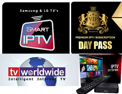 IPTV Subscription 24HR TRIAL 5000 Channels Worldwide +VOD (All Devices)