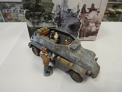 King and Country German Command Car Battle of the Bulge