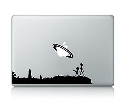 """Rick And Morty Apple Macbook Laptop Vinyl Sticker Decal skin For 12"""" Mac New"""