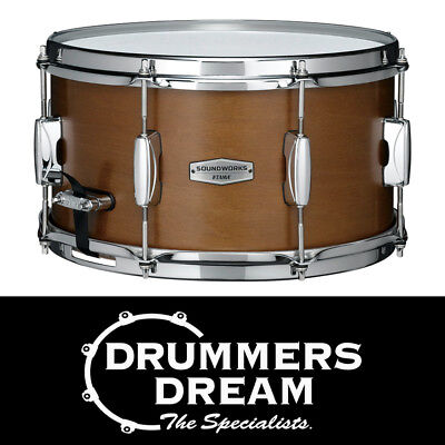 "Tama SOUNDWORKS 13 x 7"" Kapur Snare Drum - Matte Brown"