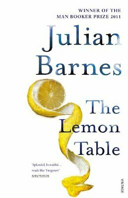 The Lemon Table by Barnes, Julian Paperback Book The Cheap Fast Free Post