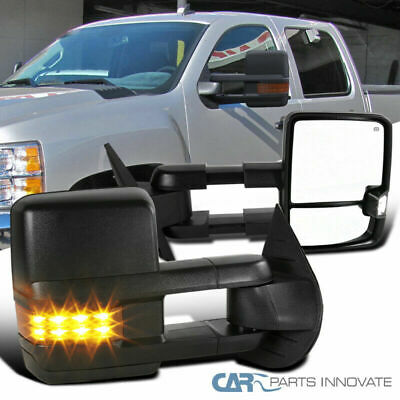 07-13 Silverado Sierra Facelift Power Heated Towing Mirrors+Amber LED Signal