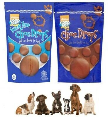 *Choc Drops for Dogs Puppies Treats Chocolate Drops for Dogs Puppies