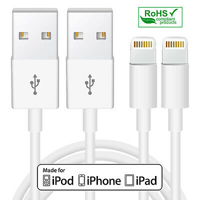 MFi Certified Apple Lightning Data Sync Cable Charger For iPhone X iPad Pro iPod