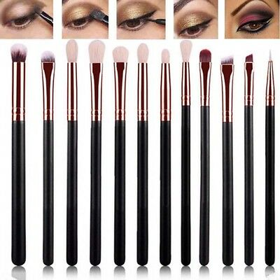 12Pcs*Eye Shadow Kits Foundation Brush Make Up Cosmetic Brush Professional Set