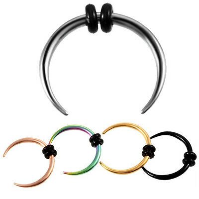 1pc Vintage Nose Septum Hoop Ring Nose Piercing Punk Body Jewelry