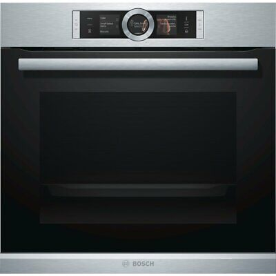 NEW Bosch HRG6767S2A 60cm Serie 8 Pyrolytic Electric Built-In Oven with Steam