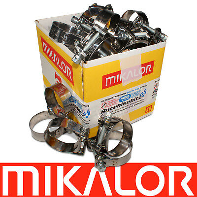 T Bolt Clamps Mikalor Stainless Steel Heavy Duty Supra Exhaust Clips | Wholesale