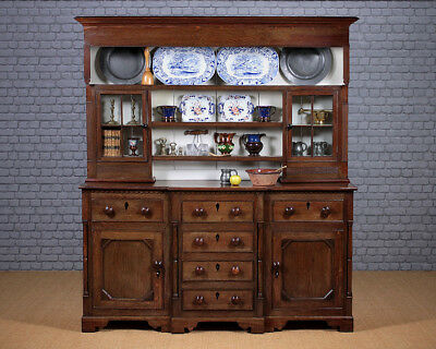Antique Early 19th.c. Oak Welsh Cottage Dresser c.1820.