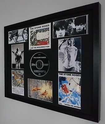 The Stone Roses Framed-Ltd Edition Artwork Certificate Ian Brown-Oasis