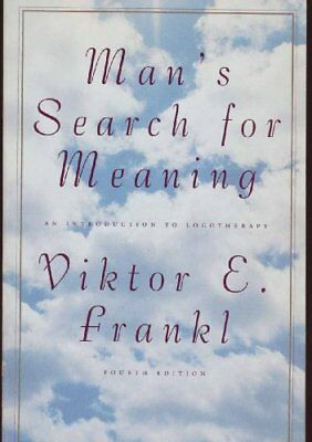 B002N2T2I4 Mans Search for Meaning (Beacon paperback, 1992, Fourth Edition)